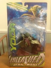 Star Wars UNLEASHED Action Figure YODA 2003