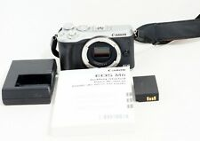 MINT Canon EOS M6 Digital Camera Body Only & Items Shown