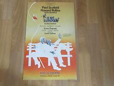 Im Not  RAPPAPORT  by Herb Gardiner  APOLLO  Theatre Original Poster