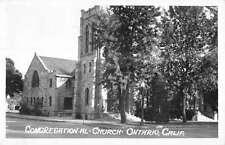 Ontario California Congregational Church Real Photo Antique Postcard K60041