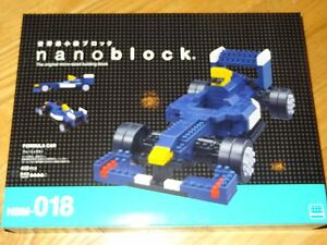 Formula Car Nanoblock Micro Sized Building Block Race Car Mini Brick NBM018
