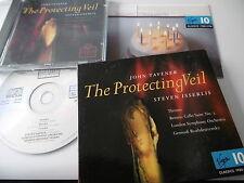 JOHN TAVENER THE PROTECTING VEIL STEVEN ISSELRIS CD ALBUM VIRGIN CLASSICS