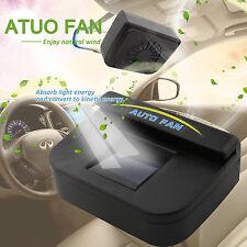 Solar Powered Car SUV Auto Air Vent Cool Fan Cooler Ventilation Radiator System
