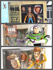 Toy Story Revoltech Series Woody Jessie Buzz Lightyear PVC Action Figure