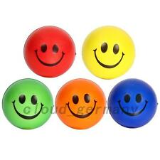 5 PCS Visage Balle Anti-stress Emoticone Stress Soulagement Boule De Pression