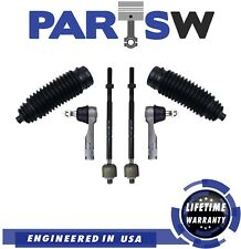 6 Pc New Steering Kit for Nissan 200SX & Sentra / Bellow Boots, Tie Rod Linkages