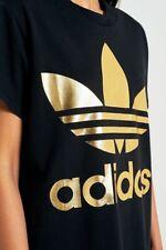 Adidas Originales Grandes Oro Trébol Tee T-Shirt Tee Top Crew Polo Adidas Talla S