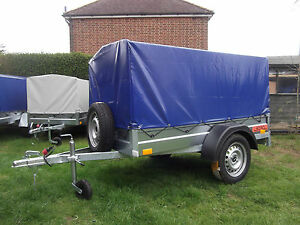 NEW Car camping small box trailer 6.8ft x 3.8ft with top cover 750kg .