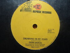 "Dean Martin ""Drowning In My Tears"" Very Rare Oz 7"""