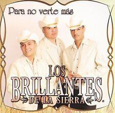Los Brillantes De La Sierra Para No Verte Mas New Audio CD