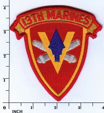 USMC 13th Marine Regiment PATCH ! 13th Marines Regt Artillery ! WWII ! Vietnam !