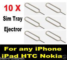 Bandeja Sim de eyector, tarjeta Sim Bandeja expulsar Pin, Sim abridor de herramienta para todos los Apple Iphone