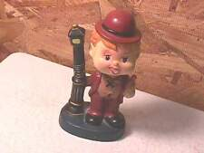 "1950's Japan Bobble Head ""Drunk on Lamp Post"""