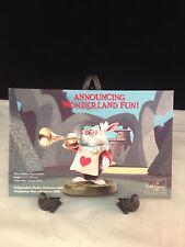 "Wdcc Disney Post Card 4"" x 6"" White Rabbit / Alice"