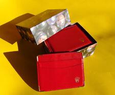 Rolex 179173 Box innen rot Uhrenbox 14.00.71 Geneve Suisse Rolex red I26