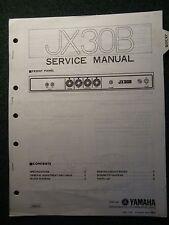 Yamaha Amplifier JX30B Service Shop Manual Schematics Parts List JX-30B 1980