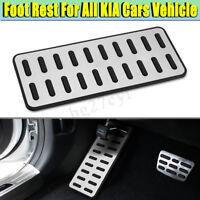 For KIA Foot Rest Pedals 304 SS Original Pedal Pad Cover Aluminum alloy  !!