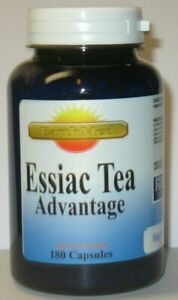 Essiac Tea Advantage 180 Capsules  Supports Overall Health