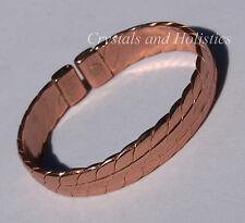 MAGNETIC - HEAVY COPPER Solid Copper Bracelet Bangle Pain Relief Arthritis M29