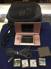 Pink Nintendo DS Lite Bundle