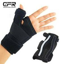 Carpal Tunnel Wrist Brace Thumb Spica Splint Support Immobilizer Arthritis Pain
