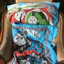 Thomas The Train Set Comforter and Pillow Case Fits Toddler Bed – Rare