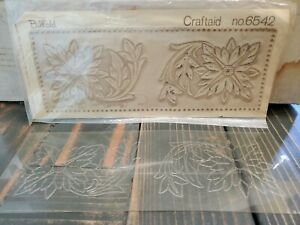 Craftaid leather templates 6542