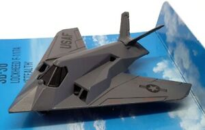 Matchbox Skybusters Appx 8cm Long SB-36 - Lockheed F117A Stealth - Grey