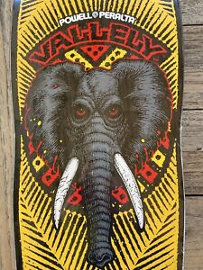 NOS 2018 Powell Peralta Mike Vallely Public Domain Skateboard Deck