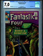 Fantastic Four #37 CGC 7.0 1965 Marvel Comic Amricons Skrulls K30