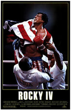 "ROCKY IV (4) Movie Poster [Licensed-NEW-USA] 27x40"" Theater Size (Stallone)"