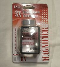 Medicine Bottle Magnifier 3x's New In Package!