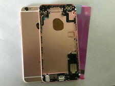 BACK COVER SCOCCA TELAIO POSTERIORE CASE ROSE IPHONE 6S PLUS rosè ROSA