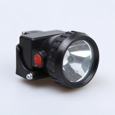 3W 150000LM Miners Cordless Power LED Helmet Light Safety Head Cap Lamp Torch @