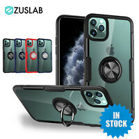 For iPhone 11 Pro MAX XS MAX XR XS X 7 8 Plus Case ZUSLAB Heavy Duty Stand Cover