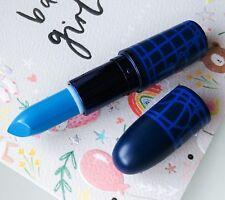 Authentic MAC Amplified Lipstick *#SHOCKVALUE* Blue Shock Value CHROMAT Unboxed