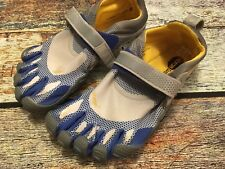 Vibram Five Fingers M349 Barefoot Sport Water Shoes Men's Size 41 EUC Blue/Gray