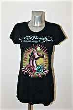 t-shirt panther black ED HARDY audigier size L NEW LABEL value