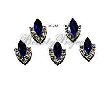 5pc Nail Art Charms 3D Nail Rhinestones Decoration Jewelry DIY Bling - C288