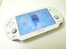 PlayStation PS Vita Wi-Fi  Crystal White PCH-1000 ZA02 Console only game