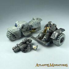 Metal Space Marine Attack Bike (incomplete) - Warhammer 40K XX869