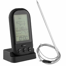 mumbi BBQ Funk Grillthermometer Bratenthermometer Grill Ofen Thermometer digital