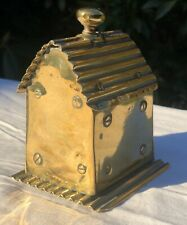 Antique Brass RARE War Army Trench Art Handmade Cottage House Ornament Sculpture