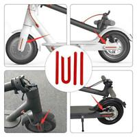 Wheel Cover Protective Shell Reflective Sticker for M365 Electric Scooter #k