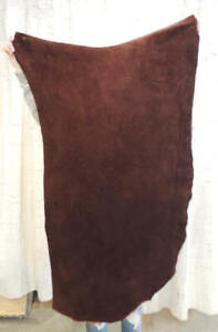 WHISKEY BISON BUFFALO Leather Hide for Native Crafts Moccasins Buckskins Quivers