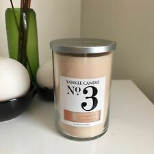 YANKEE CANDLE Coconut Collection 2-Wick Tumbler ~ NO.3 COCONUT & MANDARIN
