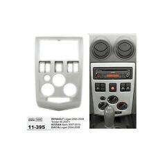2 Din Fascia Stereo Dash Mount Trim Kit Frame For RENAULT Logan Tondar 90 Aprio
