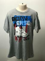 BOYS CONVERSE ALL STAR GREY BLUE KIDS T-SHIRT SHORT SLEEVE AGE 12-13 YEARS