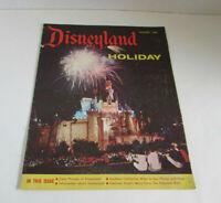 VTG VINTAGE Disneyland Holiday Magazine Summer 1958