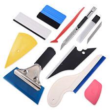 10pcs Car Window Tint Film Wrapping Vinyl Tools Squeegee Scraper Applicator Kits